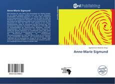 Buchcover von Anne-Marie Sigmund