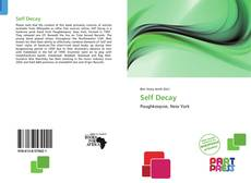 Capa do livro de Self Decay