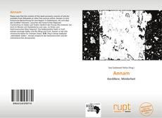 Bookcover of Annam