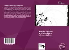 Couverture de Annales médico-psychologiques