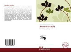 Bookcover of Annales-Schule