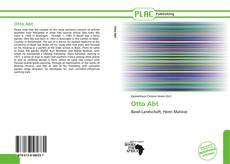Buchcover von Otto Abt