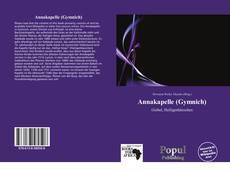 Buchcover von Annakapelle (Gymnich)