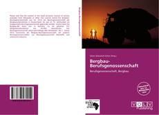 Buchcover von Bergbau-Berufsgenossenschaft
