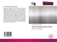Buchcover von Anne Daubenspeck-Focke