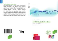 Self-Induced Abortion kitap kapağı