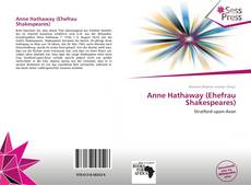 Bookcover of Anne Hathaway (Ehefrau Shakespeares)