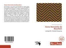 Anne Henriette de Bourbon kitap kapağı