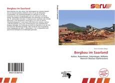 Couverture de Bergbau im Saarland