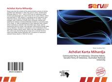 Bookcover of Achdiat Karta Mihardja