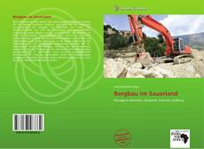 Buchcover von Bergbau im Sauerland