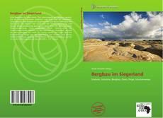 Buchcover von Bergbau im Siegerland