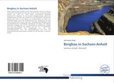 Capa do livro de Bergbau in Sachsen-Anhalt