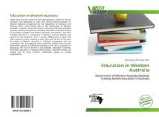 Education in Western Australia的封面