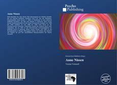 Capa do livro de Anne Nissen
