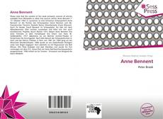Bookcover of Anne Bennent