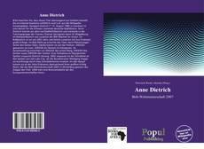 Buchcover von Anne Dietrich