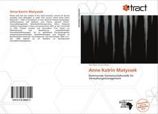 Anne Katrin Matyssek的封面