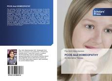 Bookcover of PCOS And HOMEOPATHY