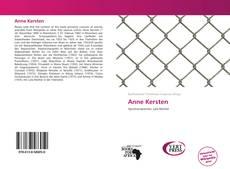 Capa do livro de Anne Kersten