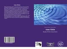 Buchcover von Anne Klein