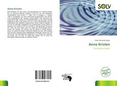 Bookcover of Anne Kristen