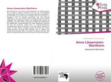 Capa do livro de Anne Löwenstein-Wertheim
