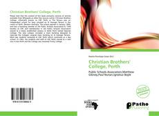 Bookcover of Christian Brothers' College, Perth