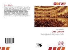 Capa do livro de Otto Gebühr