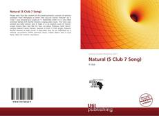 Portada del libro de Natural (S Club 7 Song)