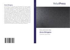 Capa do livro de Anne Bringezu
