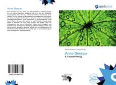 Обложка Anne Dessau
