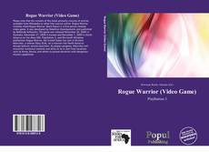 Bookcover of Rogue Warrior (Video Game)
