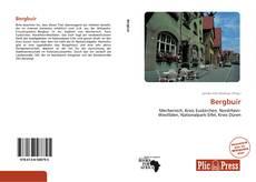 Bookcover of Bergbuir