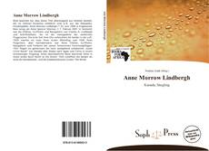 Bookcover of Anne Morrow Lindbergh