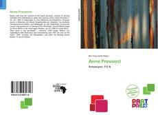 Anne Provoost kitap kapağı