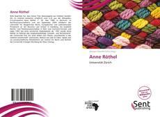 Buchcover von Anne Röthel