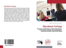 Bookcover of Wyndham College