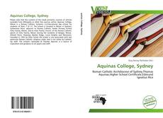 Bookcover of Aquinas College, Sydney