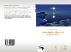 Couverture de Anne Weber (Autorin)
