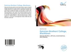 Bookcover of Patrician Brothers' College, Blacktown