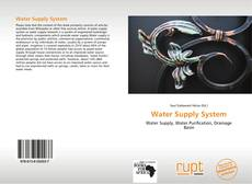 Buchcover von Water Supply System