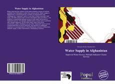 Water Supply in Afghanistan kitap kapağı