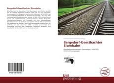Buchcover von Bergedorf-Geesthachter Eisenbahn