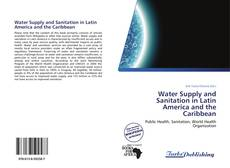 Capa do livro de Water Supply and Sanitation in Latin America and the Caribbean
