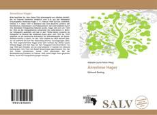 Copertina di Anneliese Hager