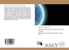 Copertina di Water Supply and Sanitation in Egypt
