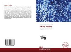 Bookcover of Anne Pätzke