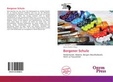 Bookcover of Bergener Schule