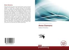 Bookcover of Anne Siemens